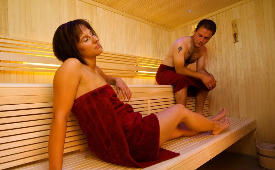 Entspannung pur in unserer Sauna