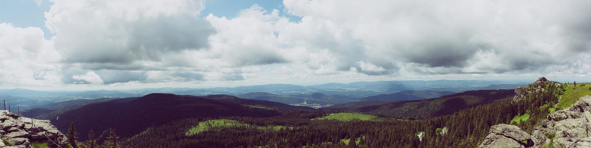 Aussicht Bayerischer Wald