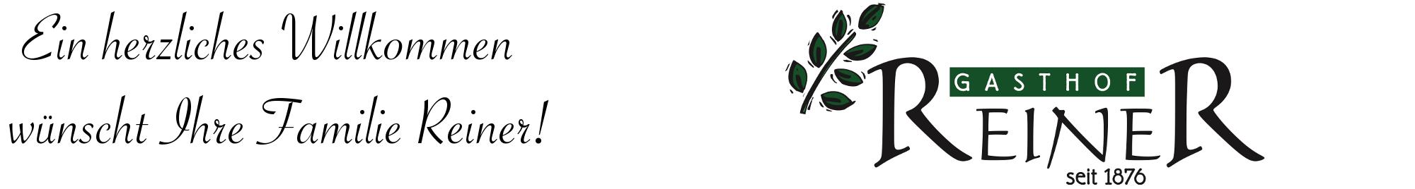 Gasthof Reiner Logo